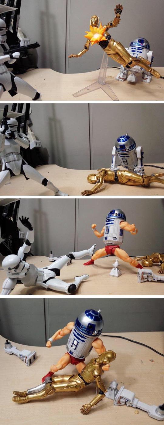 Droid Rage R2-D2