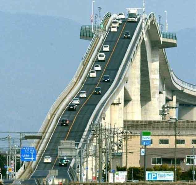 Eshima-Ohashi-bridge-in-Japan