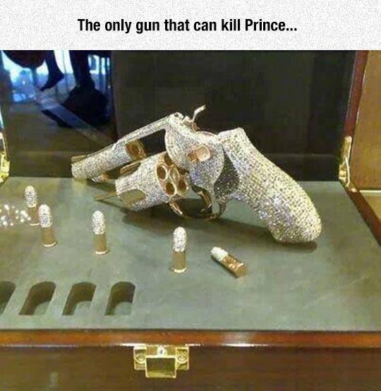 Fabulous Diamond Encrusted Weapon