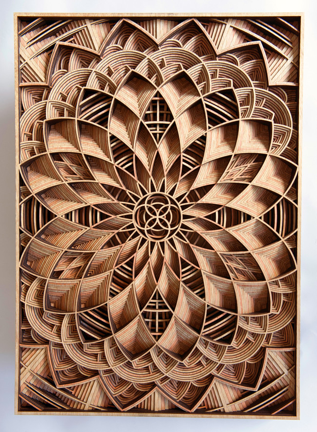 How An Artist Created These Detailed Wooden Pieces Is Fascinating And Incredible
