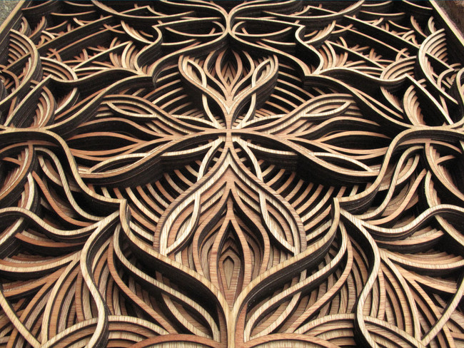 How An Artist Created These Detailed Wooden Pieces Is Fascinating And Incredible3