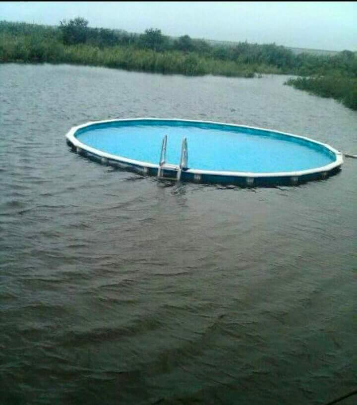 Meanwhile in Oklahoma, the pool party never ends.