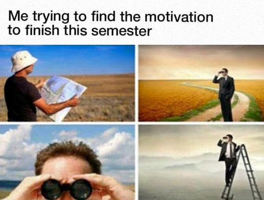 Motivation To Finish