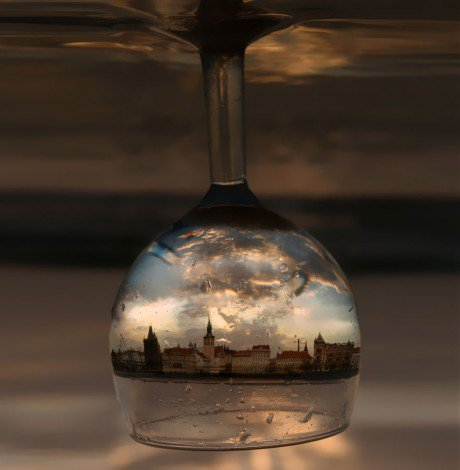 Prague in a wineglass