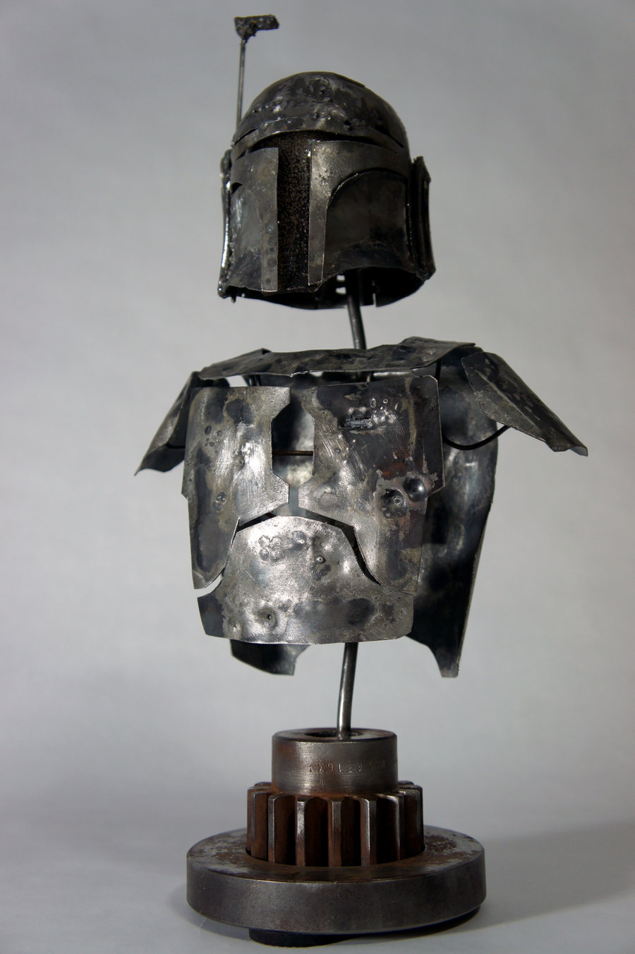 Scrap metal Boba Fett