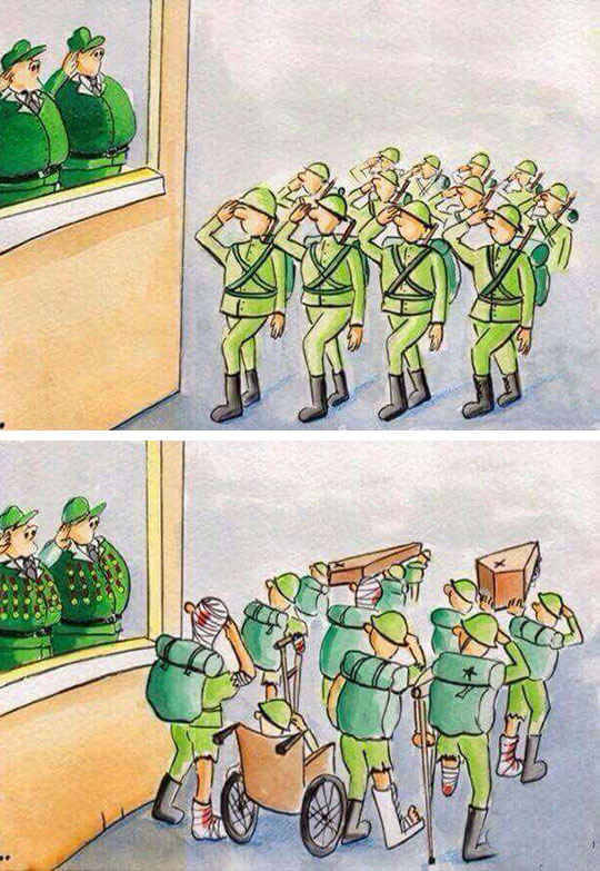 The Ugly Truth Of War