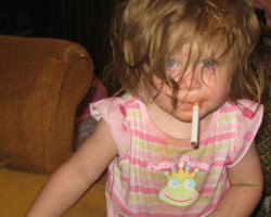 baby-cigarette-mouthworst-parents-bad-parenting-skills