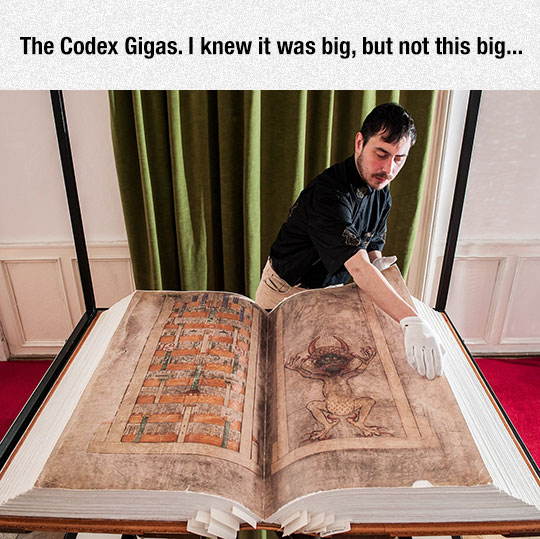 The Largest Extant Medieval Manuscript In The World