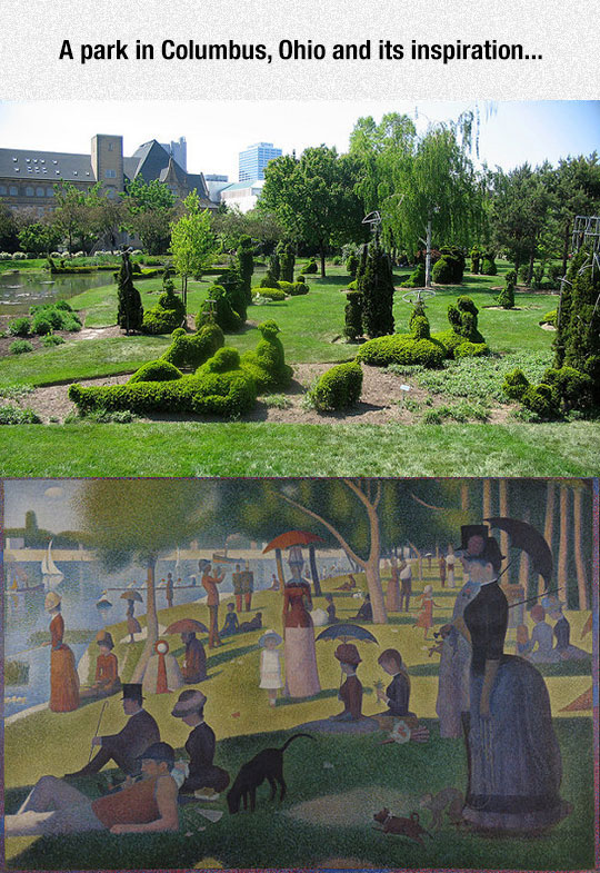 A Sunday Afternoon On The Island Of La Grande Jatte From Georges Seurat