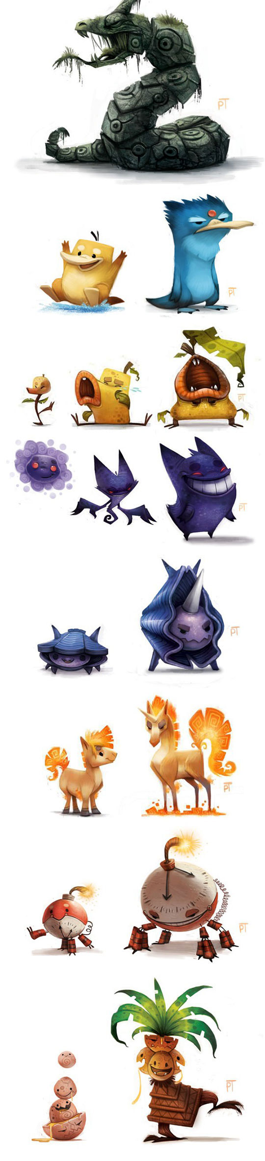 cool-Pokemon-re-design-characters-art
