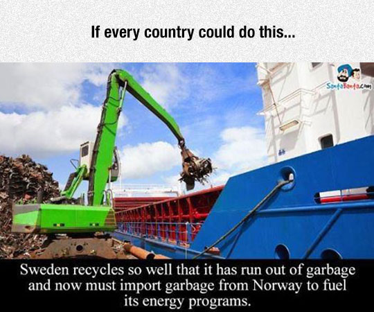 cool-Sweden-recycle-program-import-garbage