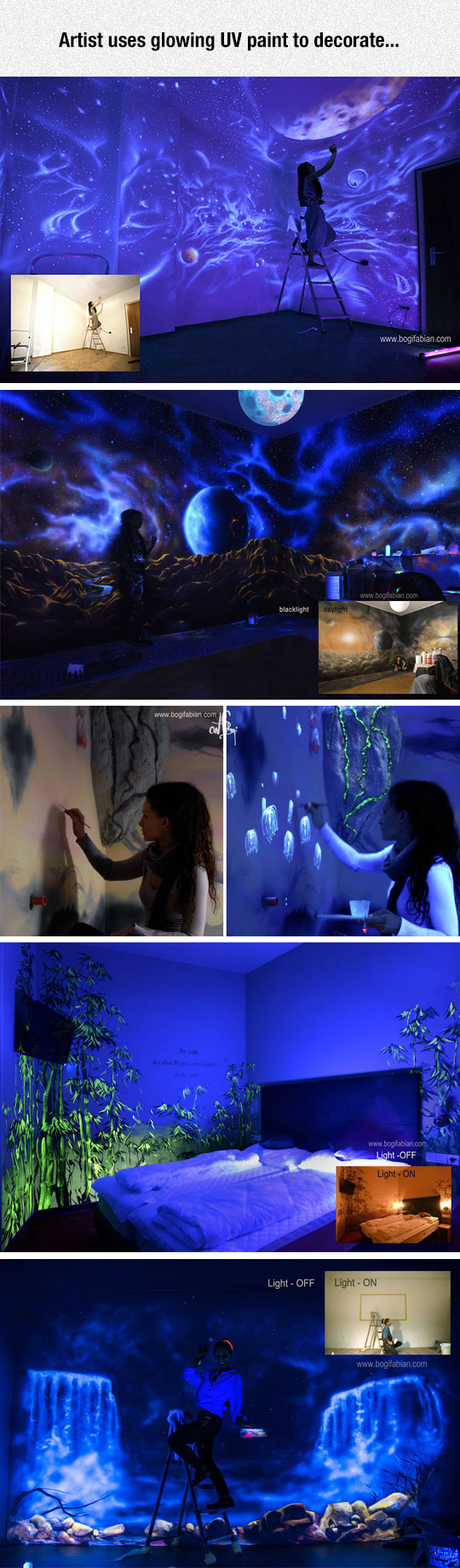cool-artist-wall-glowing-paint