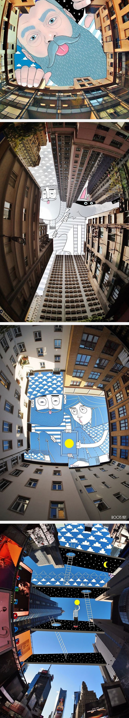 cool-painting-sky-building-drawing
