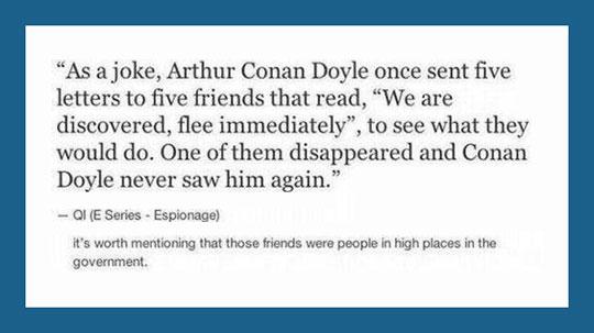 funny-Arthur-Conan-Doyle-joke-friends