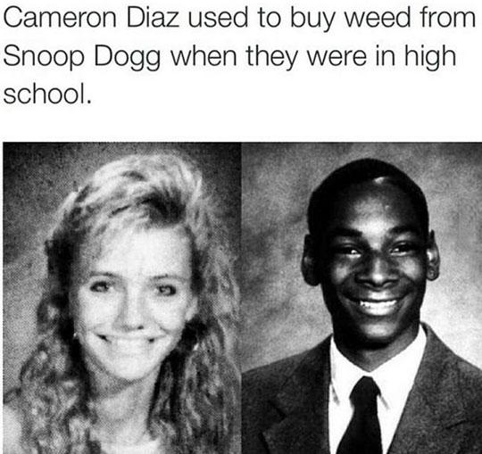 funny-Cameron-Diaz-Snoop-Dog-highschool