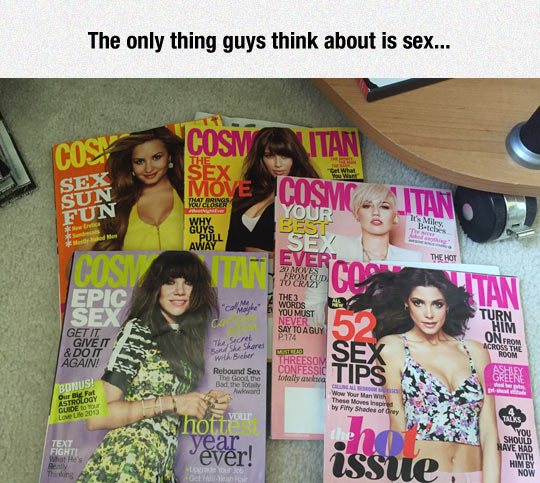 Women Magazines These Days