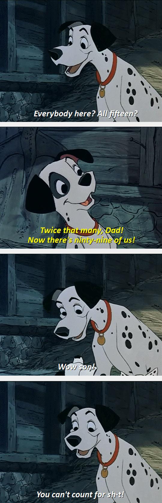 Dalmatian Maths