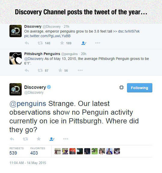 Discovery Channel Burn