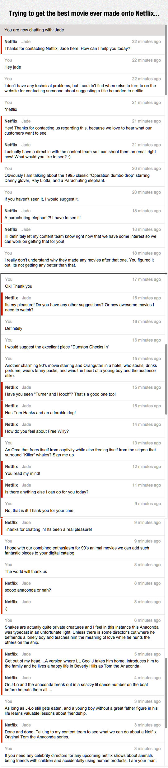 Make It Happen, Netflix