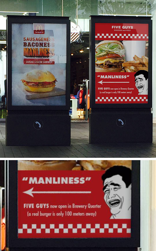 funny-McDonalds-street-ad-manliness