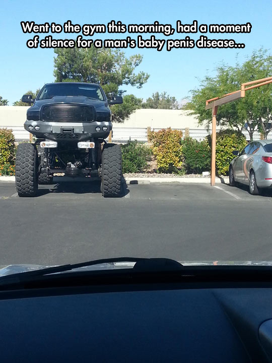 At Least He Parked Inside The Lines