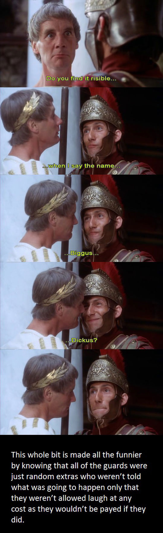 funny-Monty-Python-soldier-laughing-guard-actor