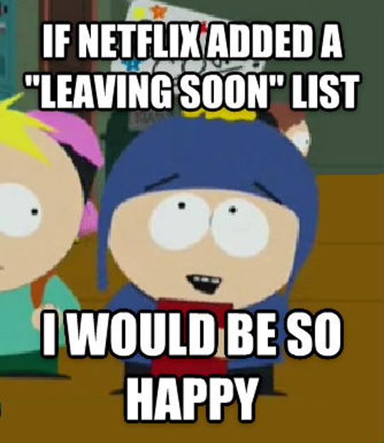 Netflix Needs This List