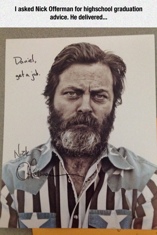 funny-Nick-Offerman-graduation-advice