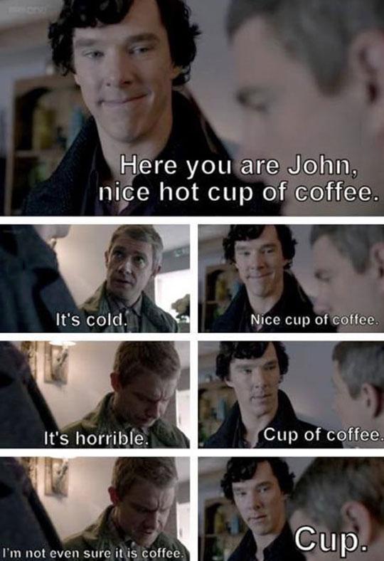 Sherlock Solves A Real Problem