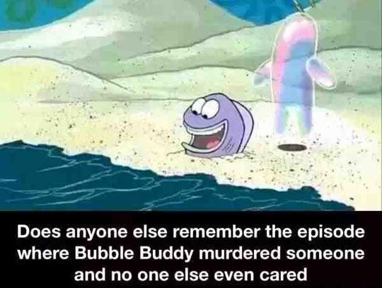funny-SpongeBob-bubble-Buddy-evil