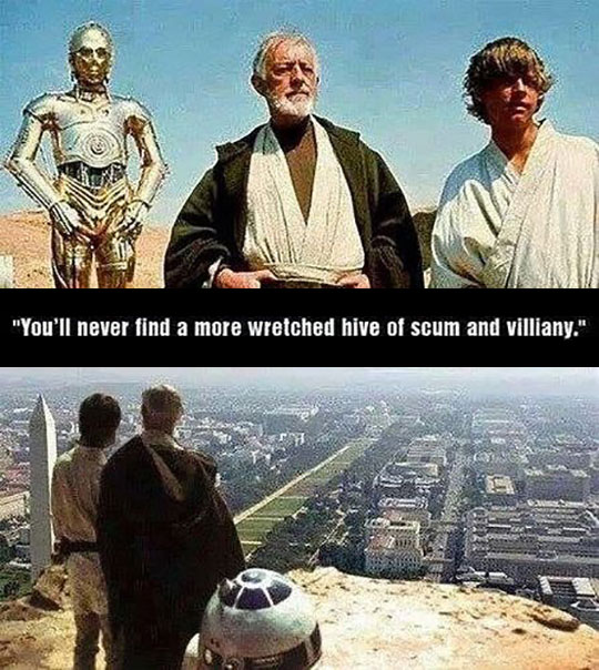 If Star Wars Took Place In Washington DC