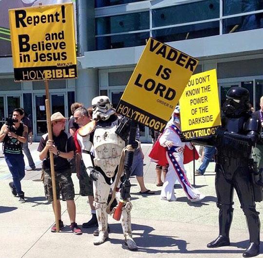 Vader Hates Rebels