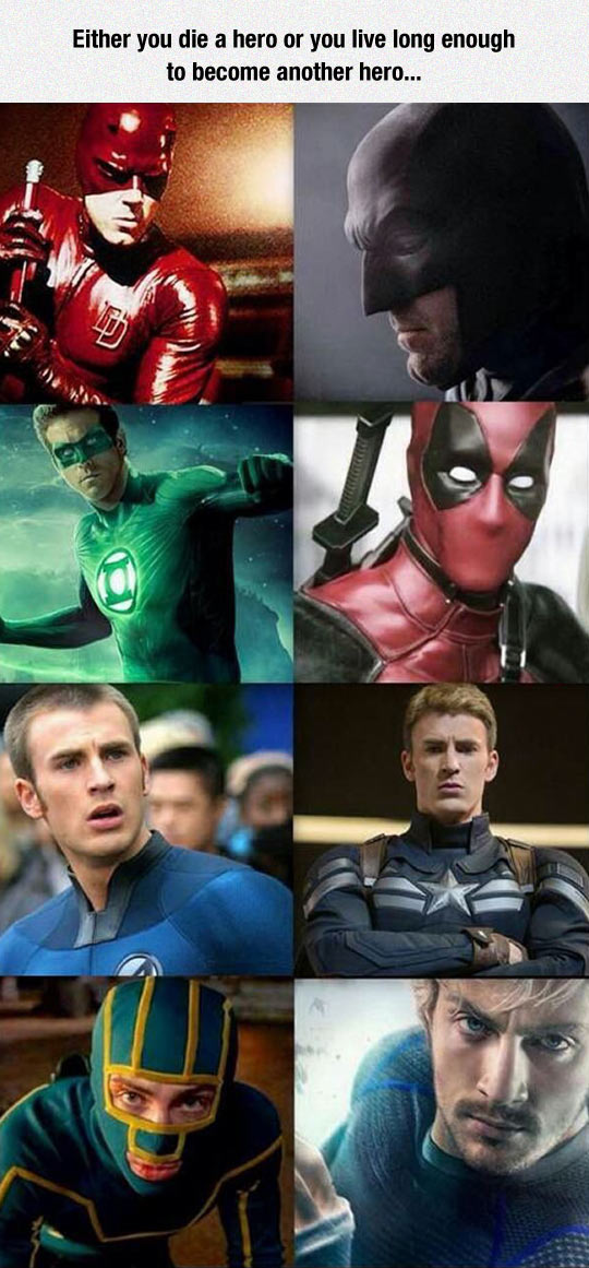 Actors Who Played More Than One Hero