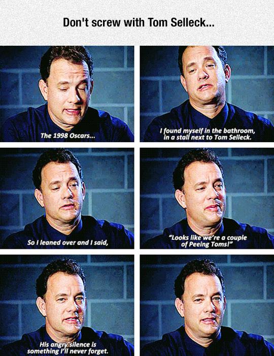 Tom Hanks Confessing His Deepest Secret