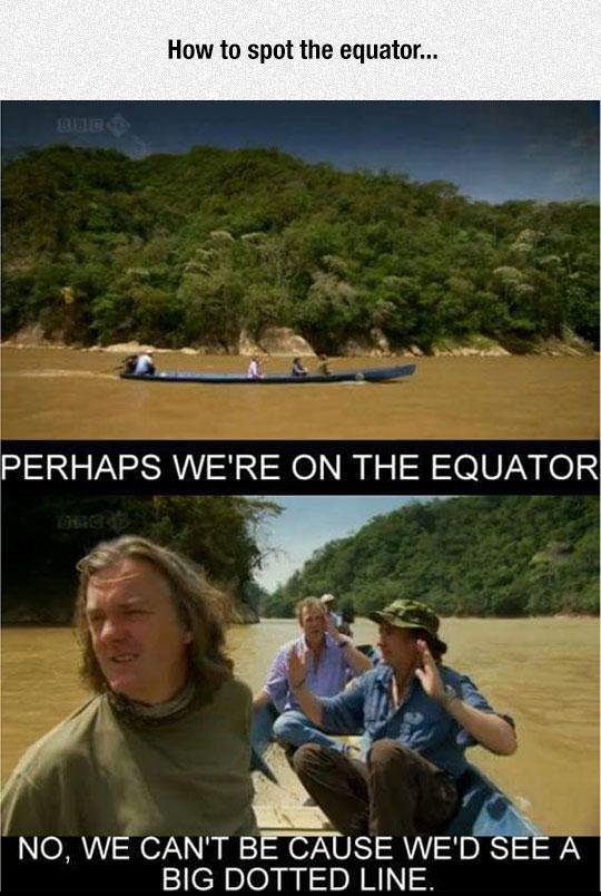 funny-Top-Gear-Equator-line-river