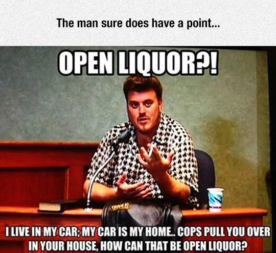 Open Liquor