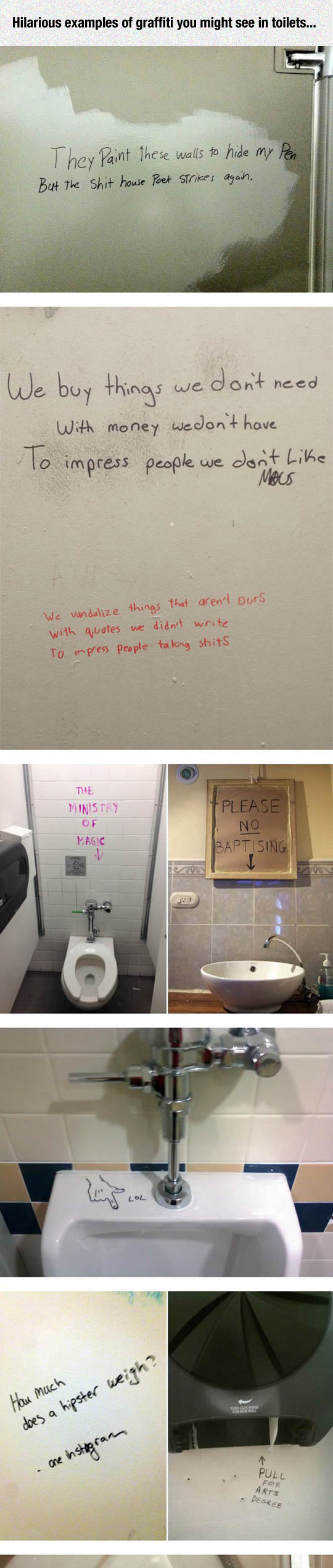 The Best Toilet Graffiti