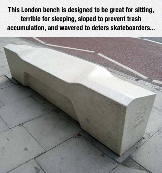 This Bench Is A Challenge