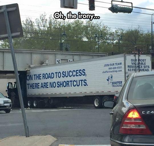 funny-big-truck-bridge-height-accident