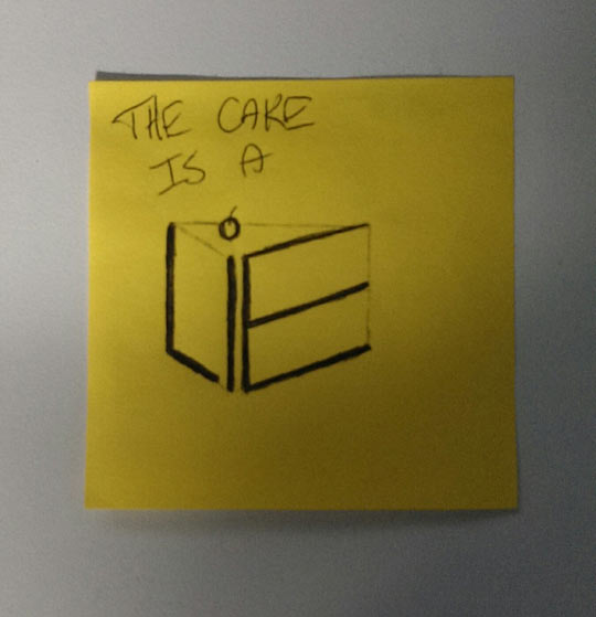 funny-cake-Portal-lie-drawing