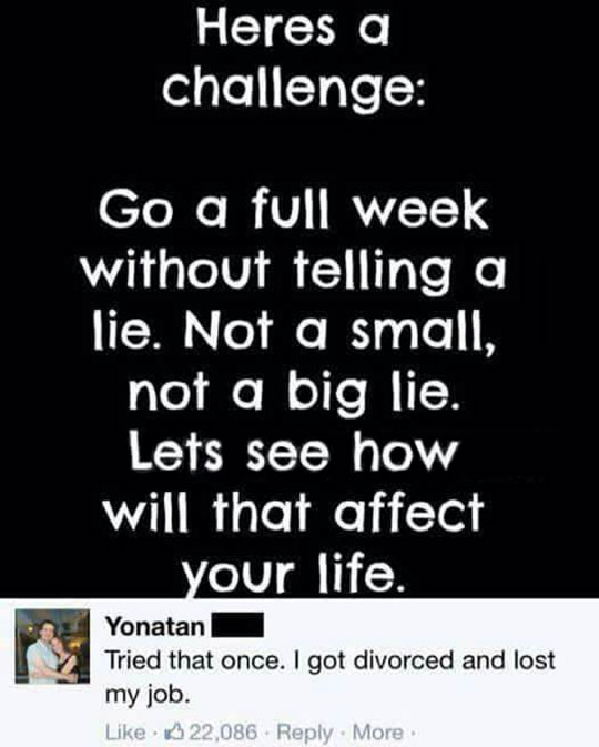 A Challenge That