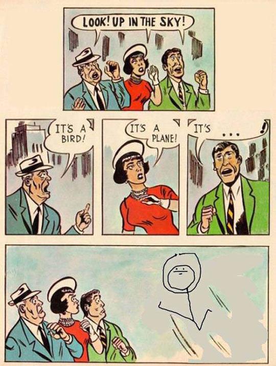 funny-comics-Superman-people-sky-meme