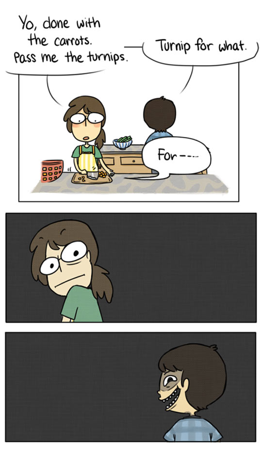 funny-couple-cooking-kitchen-comic