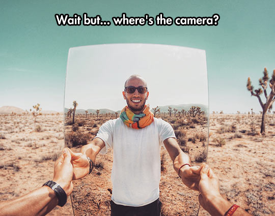 A Mirror In The Desert
