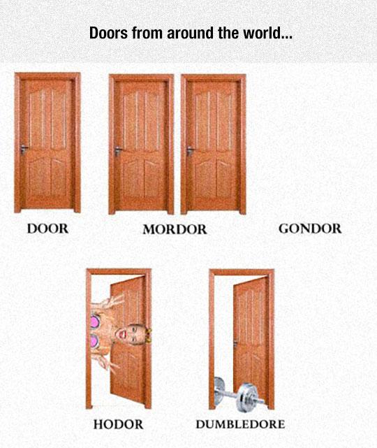 Some Amazing Doors