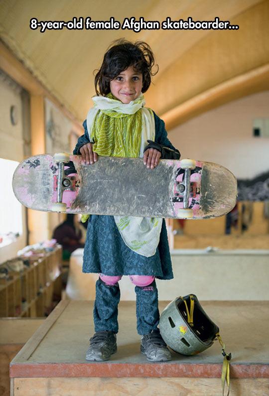Badass Skateboarder