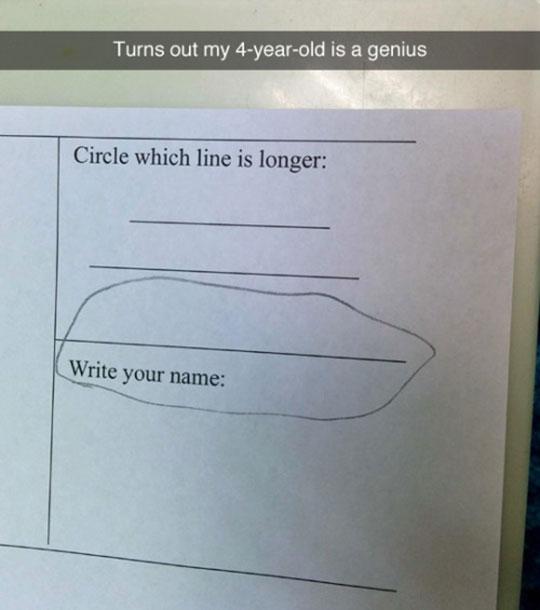 A True Genius
