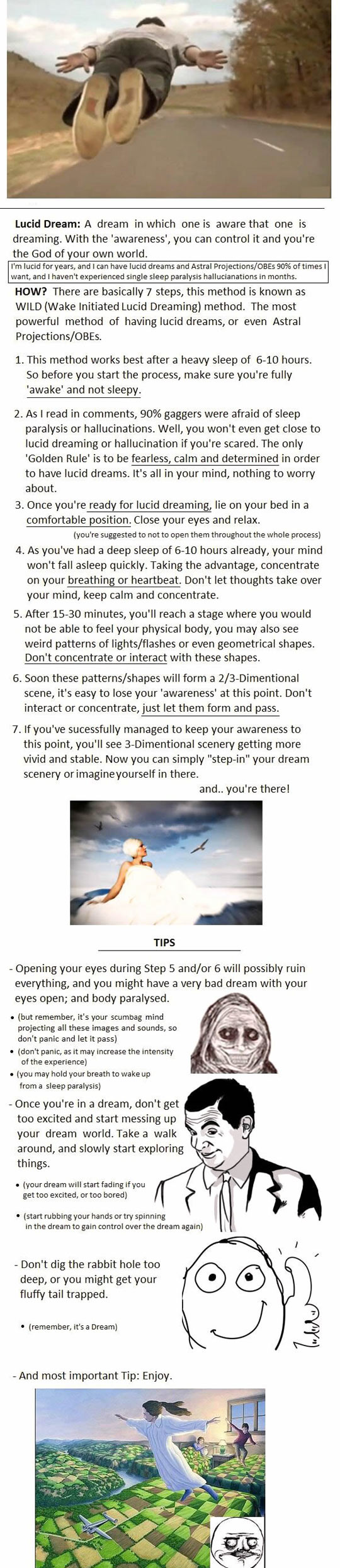 Easy way to lucid dream tonight
