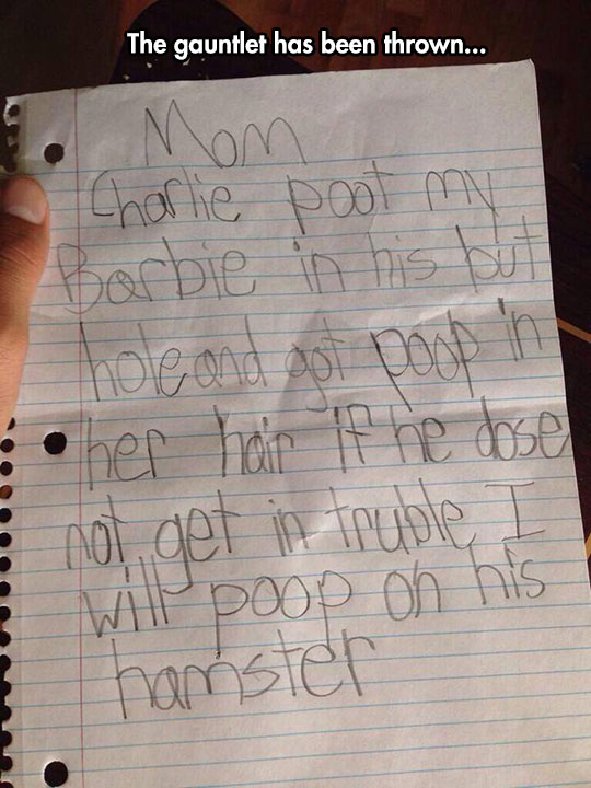 Little Girl Has Had Enough