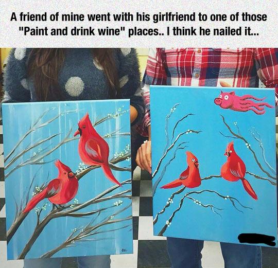 He Is An Artistic Genius